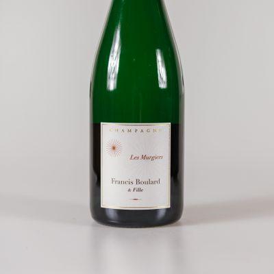 12 fles champagne les murgiers brut nature pinot meunier